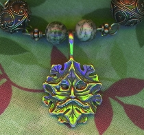 Green Man Jewelry made by ?