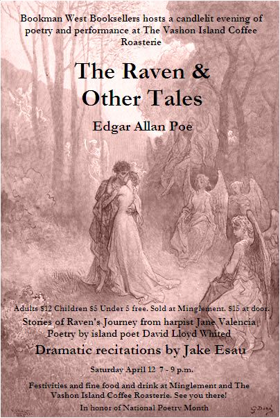 An evening of poetry and performance - Raven Tales!