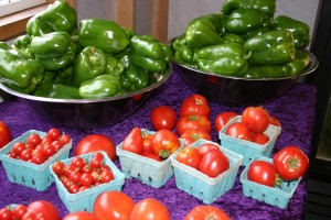 What you might find in the Hundred Acre Farm Community farm stand in late summer