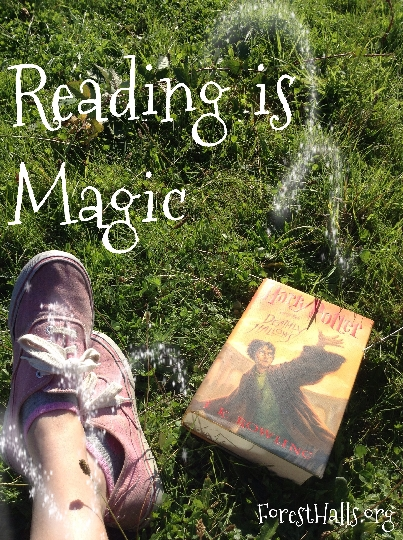 Reading Is Magic - photo art by Gwynne Valencia