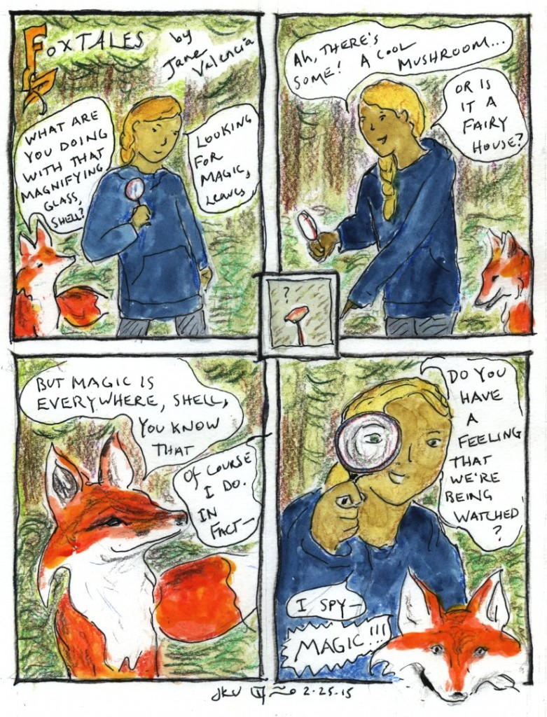 FoxTales No. 1 - written and illustrated by Jane Valencia