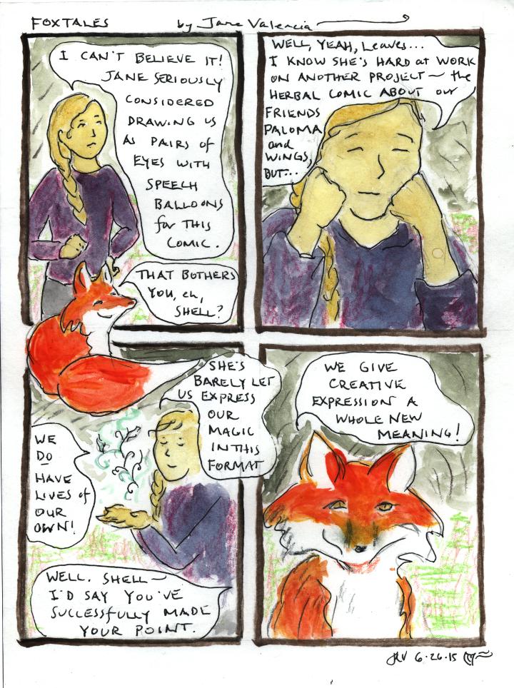 FoxTales comic