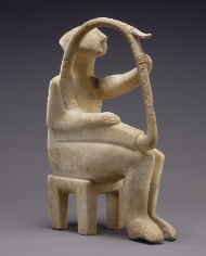 Early Cycladic Harper - Sculpture