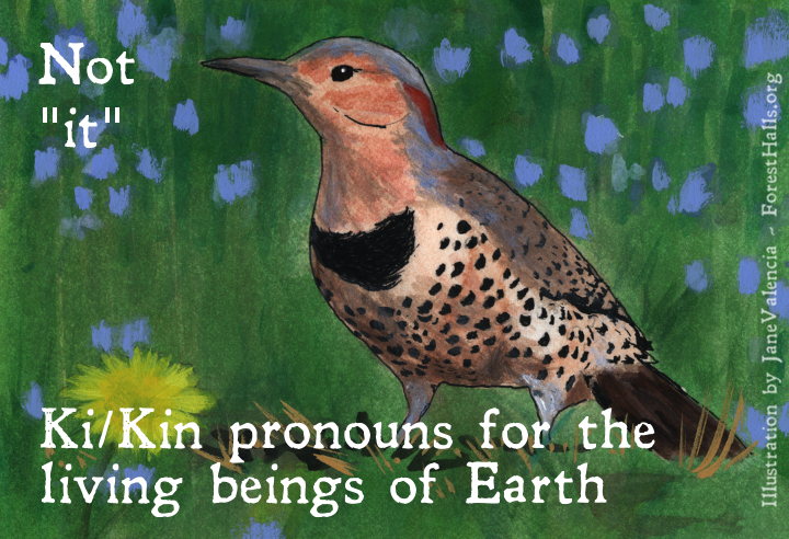 Ki/Kin for the living beings of Earth - art by Jane Valencia